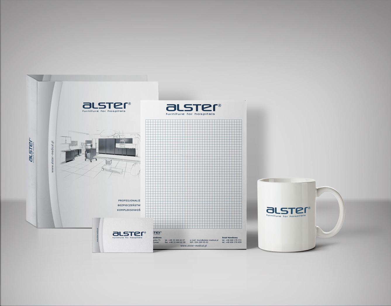 Promotional Materials for Alster Medical