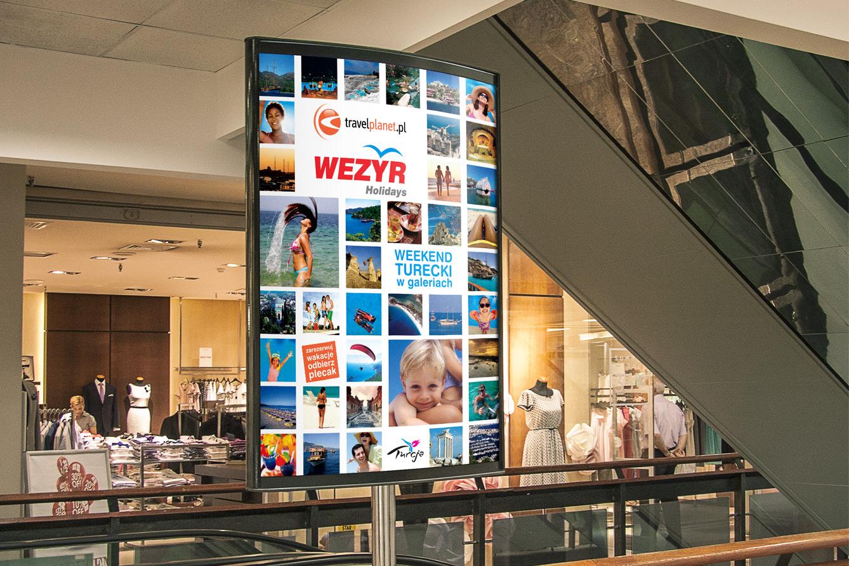 Wezyr Holidays Services Indoor advertisement